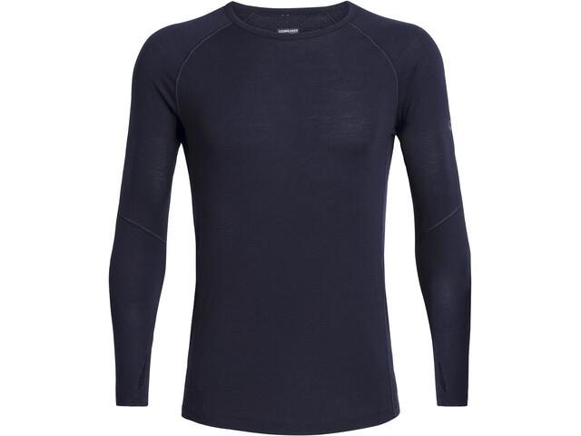 Icebreaker 150 Zone LS Crewe Shirt Herr midnight navy